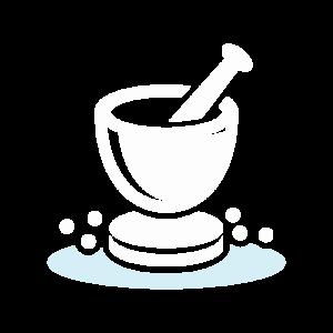white salt icon